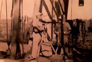 1940s Oil days