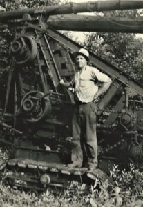 Oil Working Days in the 1940s